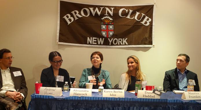 Karen Berlin Ishii, Dana Haddad, Maurice Frumkin